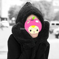 Wholesale 1 Women s Fashion Winter Woolen Cap With Scarf Gloves Hat Accessories Set in