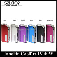 built in 2000mah battery resistance - Authentic Innokin Coolfire W Box Mod Coolfire IV Battery mAh Built In Battery ohm Sub Resistance Coolfire Digital Mod