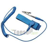 antistatic wrist strap - NEW Anti Static Antistatic ESD Adjustable Wrist Strap Band Grounding electrostatic belt Blue
