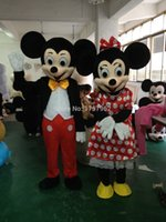 2.015 más lindo mickey Minnie Mouse traje de la mascota para el tamaño S-XXL