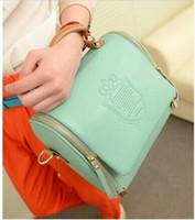 Wholesale 2015 new autumn fashion preppy style stamp one shoulder bags women leather handbags women messenger bags women handbag