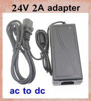 24v dc to 24v dc adapter - power adapter power supply charger ac dc adapter female plug electrical plug adapter DC V A to AC V V fit led strip light DY010