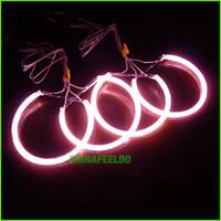 al por mayor bmw e34 led-Rosa CCFL LED Ángel Ojos faros para coches / BMW E32.E34.E30.E39OEM / angel eyes kits