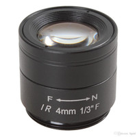 Wholesale 4mm F1 quot MP High Definition IR Lens for CCTV Camera CCT_203