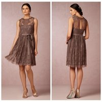 Wholesale Mocha Bridesmaid Dresses - Buy Cheap Mocha Bridesmaid ...