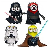 interior decor - 30 TOPB4636 colors minions car decoration Decor cosplay Minions movie Action Figure toys Despicable Me Automobiles Interior Accessories