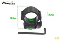 aluminum ring mounts - AloneFire M mm ring scope mount rail Aluminum Alloy hunting Tactical Single MM Rail Mount pc