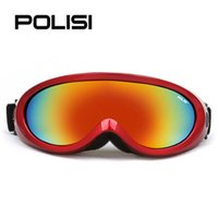 Wholesale New POLISI Adult and Children Motorcycle Off Road Cycling Goggle Glasses Eyewear UV400 Ski Snowboard Skate Goggles