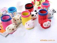 Wholesale Japan and South Korea creative stationery super cute plush fabric pen cartoon cloth boots multicolor pen