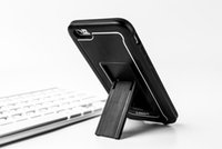 body armor - 2015 Luxury Cool Armor Case Hard Hybrid Shockproof Accessories Tough Logo Armor Hard Back Body Stand Case Cover For iphone s plus