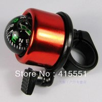 Cheap 480pcs lot Free Shipping Wholesale Metal Bicycle Bell Ring 7Colors Compass Bell Ring for Bike Bicycle