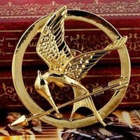 antique brooches and pins - 50 the hunger games bird brooch vintage retro antique gold and bronze mockingbird pin for men and women