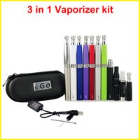 Cheap Single 3 in 1 vaporizers kits Best Multi  ego t battery