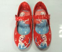 Wholesale EMS DHL FEDEX Fast Autumn Frozen Elsa Anna Princess Shoes New Style Girls Party Shoes First Walking Sports Shoes Color J2060
