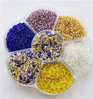 Cheap 50g 1.5mm(15 0) Fashion Inner silver DIY Czech Loose Spacer glass Seed beads garment accessories Jewelry Findings