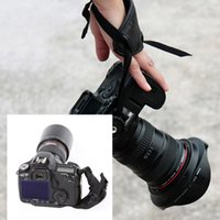 Wholesale US Stock Hot Sale PU Hand camera grip Soft leather padded Wrist Strap for Nikon Canon Sony Cameras