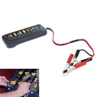 Wholesale New Brand Hot Sale High Quality V LED Battery Tester With Two Clips LED Display For Cars Trucks