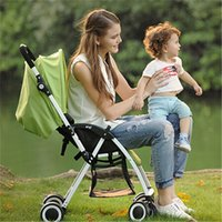Wholesale Baby strollers brands Compact Folding Stroller Easy To Carry Ultralight Cheap Baby Pram Pushchair Suitable For Infant Toddlers