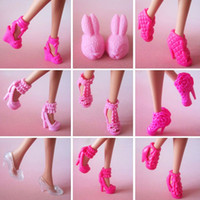 doll shoes - 10 pair New orignal Shoes for barbie doll high quality Doll accessories
