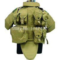 Wholesale OTV Camouflage Interceptor Tactical Vest Colete Airsoft Tactical Molle Body Armor Combat Plates Vest Multicam Military Uniform