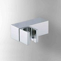 Wholesale Square Toilet Bidet Faucet Shower Head Holder Chrome Polish Silver In Wall Mounted Handheld Hose Sprayer Shattaf Bathroom Furnitures