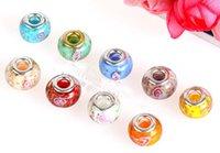 Wholesale Top quality Glass Bead Fit Charms Bracelets Big Hole Loose Beads For Pandora Fashion Jewelry