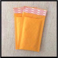Bolsas de burbujas al por mayor Envío gratuito 229mm X173mm kraft / acolchados sobres / sobre de papel / burbuja bolsas Mailer 50pcs.