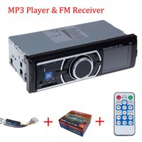 Wholesale car dvd Car Audio Radio Stereo fm transmitter MP3 Player Sound In Dash With USB SD Input FM Receiver for MP3 AUX mm order lt no track