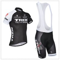 trek bike - Team Trek Cycling Jersey Short Sleeve Bike Jersey Shirts Bib Shorts Set Trek Bike Clothing Bicycle Clothes
