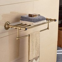 antique clothing racks - Luxury Antique Clothes Towel Shelf Towel Rack Holder w Towel Bar
