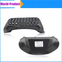 Wholesale PS4 Mini Wireless Chatpad Message Keyboard for Sony Playstation PS4 Controller