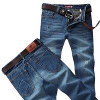 Wholesale Fashion New Autumn Winter New Men Jeans Plus size Fashion Straight Jeans Men Cheap High Quality
