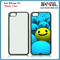 iphone 5c - 2D Sublimation Plastic Cell Phone Case for iPhone C DIY Printale Mobile Phone Case