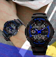 Wholesale Hot Sale New fashion casual luxury sports waterproof shockproof large face quartz digital led watches for mens and women wristwatches
