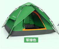 Wholesale Outdoor Automatic Instant Family Camping Tents Waterproof Double Layer Pop Up Umbrella tents