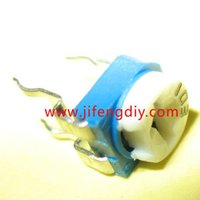 Wholesale Blue potentiometer adjustable resistor blue horizontal resistance of the variable resistor K