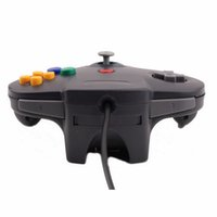 Wholesale Hot New Style Long Handle Game Controller Pad Joystick for Nintendo N64 System Black High Quality