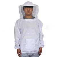 Wholesale Beekeeping Jacket and Veil Bee Smock Equip Professional Protective Suit Beekeeper Workwear Safety Clothing