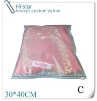 20 pedazos Ziplock empaqueta la ropa del lecho de la ropa abajo de la caja plástica del paquete del bolso plástico que sostiene el envío libre