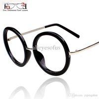 Wholesale Fashion Style New Vintage Glasses Women Retro Round Glasses Frame Classic Optical Frame Eyeglasses Oculos Femininos Gafas