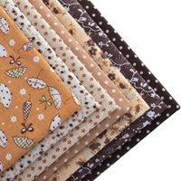 bc mix - BC Cotton Fabric Patchwork Tilda Fat Quarters Cloth Quilting Scrapbooking Fabrics CM Designs mixed Coffee Color