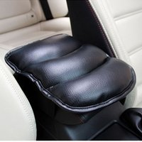 Wholesale Car Auto Armrests Cover Vehicle Center Console Arm Rest Seat Box Pad Protective Soft PU Mat Universal Cushion