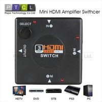 hot vedio - Mini HDMI Amplifier Switcher Supperted with HDMI1 b Multifunctional Port KVM Switches HDMI Splitter for HDTV P Vedio Hot Sale WFR032