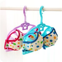 Wholesale Anti deformation bra bra drying rack frame installed in wet and dry clothes underwear rack SHYP1022