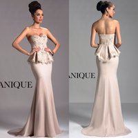 Cheap 2015 Fashion Sexy Evening Dresses Best Champagne chiffon Bridal Dresses