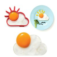 Wholesale Home Kitchen Silicone Fried E gg Poacher Love Dinner DIY Tools Pancake Poach Ring Mould Cre ative Cooking Mold