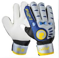 best football gloves - Full Finger Latex plam Brand boys football gloves Reusch Soccer Football Best quality Goalkeeper Gloves