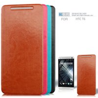 Cheap Hot sale Free Shipping British Style Leather Phone Cases for HTC One MAX T6 -thin Cover Skin