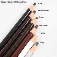 Wholesale Waterproof eyebrow eyeliner lip pencil for permanent makeup coloration sourcils permanent lapiz labios permanente