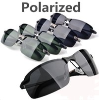 Wholesale 20pcs New Fashion Summer Sport Male eyeglasses polarized sun glasses Metal Polaroid Sunglasses Drving Oculos Gafas